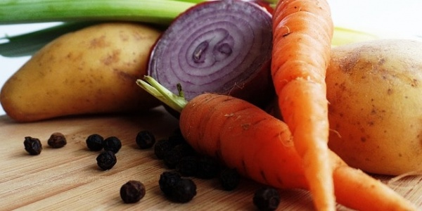 légumes, alimentation stress
