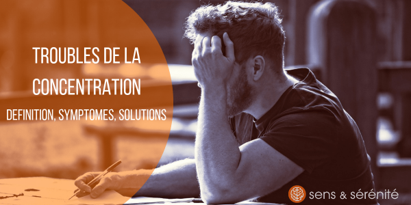 Troubles de la concentration adulte